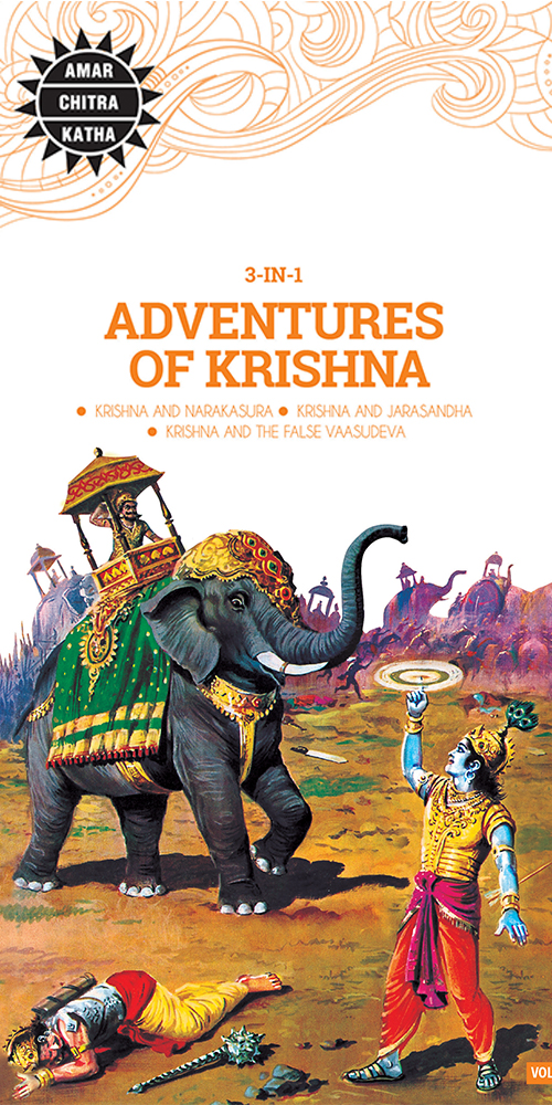 ACK 3 in 1 - Adventures of Krishna-0