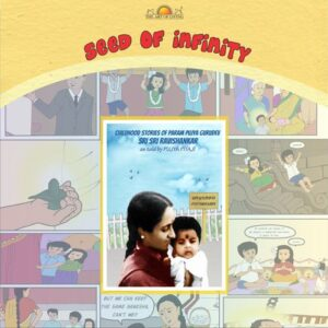 Seed of infinity book for kids by art of living