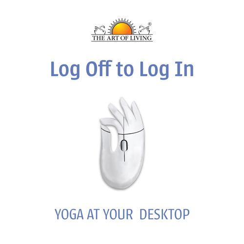 Log Off to Log In, Yoga at Your Desktop in English for office yoga and Stress Management