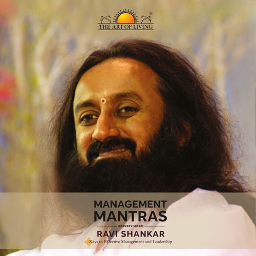 Management mantras book in English on management tips by sri sri Ravishankar
