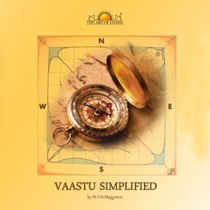 Vaastu Simplified book in English by art of living includes vastu tips