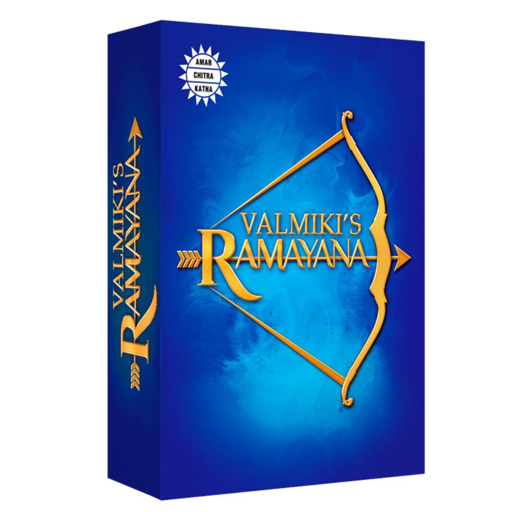 Valmiki's Ramayana (Set of 6 Books)-0