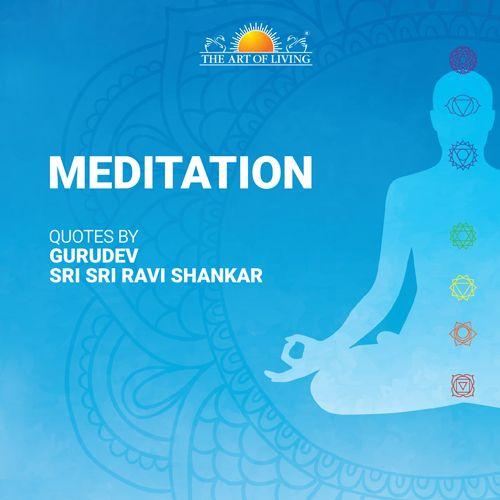 Meditation book by Sri Sri Ravishankar