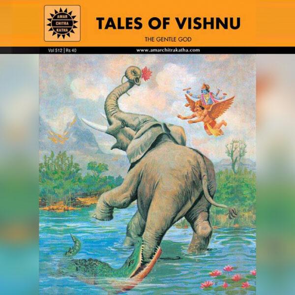 Tales of Vishnu - English-0