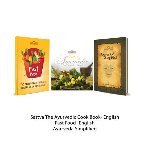 Sattva - Ayurvedic Cooking Combo (Pack of 3 books)-0
