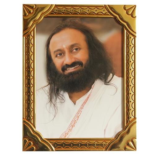 Gurude Sri Sri Ravishankar photo frame