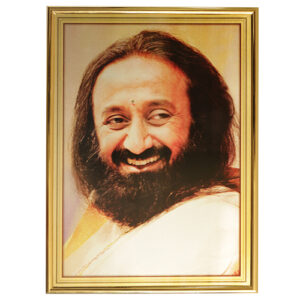 sri sri ravi shankar photo frame online