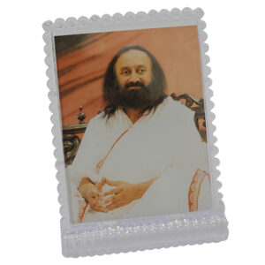 gurudev sri sri ravi shankar photo stand