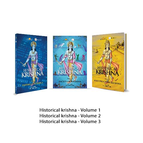 Historical Krishna Combo (Pack of 3 Books)-0