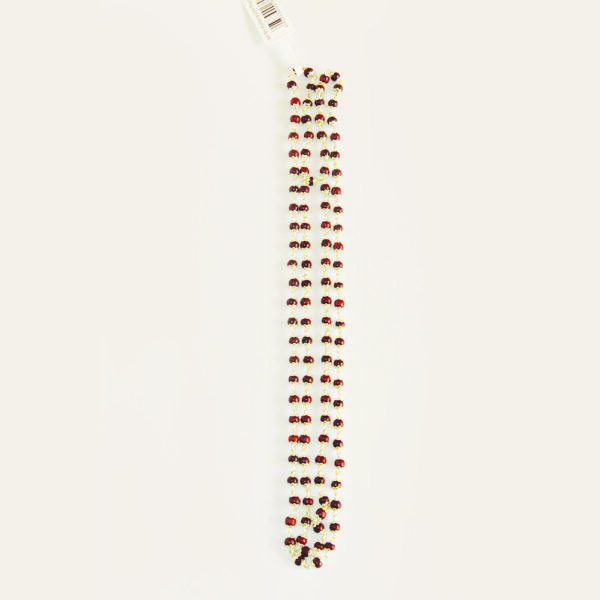 Tulsi Mala with Pure Silver Capped-0